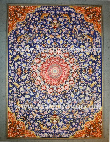 Persian Painting (carpet design)