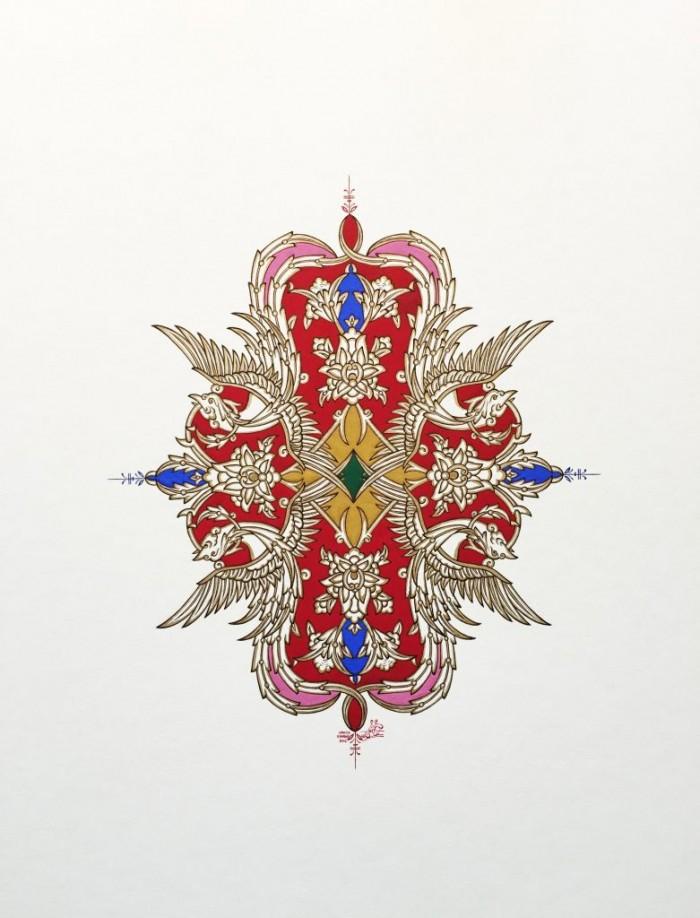 Persian Phoenix No, 9