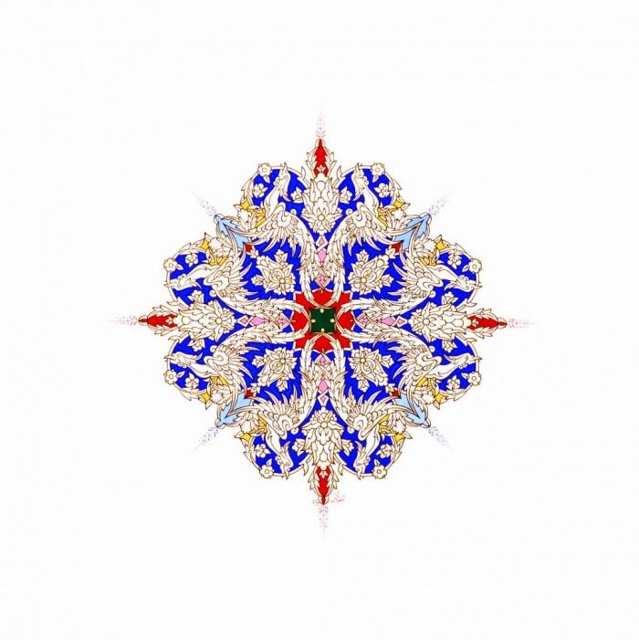 Persian Phoenix No, 7