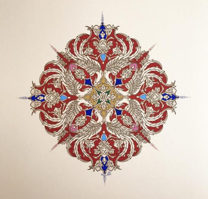Persian Phoenix No, 12